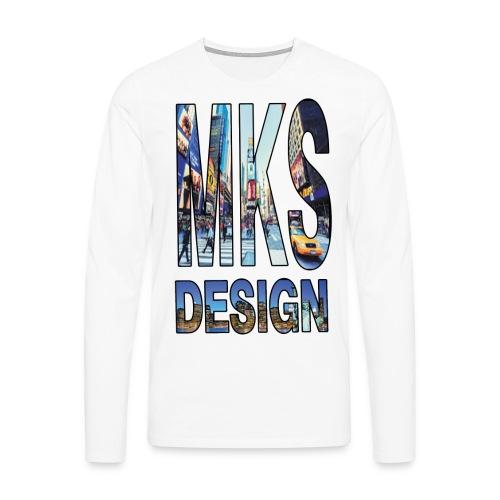 MERKOS modelo 3 - Camiseta de manga larga premium hombre