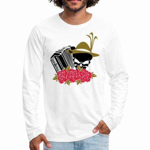 Rock Harmonika - Männer Premium Langarmshirt