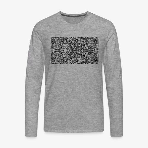 mandala1 - Men's Premium Longsleeve Shirt