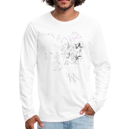 Mother Tongue and Physics - Männer Premium Langarmshirt