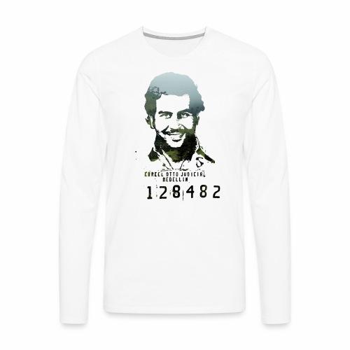 Pablo Escobar - Regenwald in Kolumbien - Männer Premium Langarmshirt