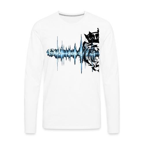 GT soundwave - Premium langermet T-skjorte for menn