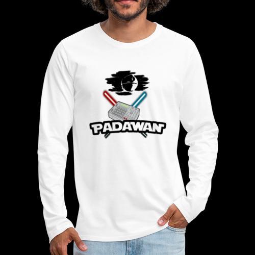 Padawan Noir - T-shirt manches longues Premium Homme