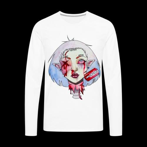 Violence - T-shirt manches longues Premium Homme