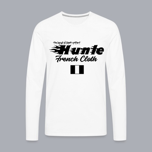 hunle Flame - T-shirt manches longues Premium Homme