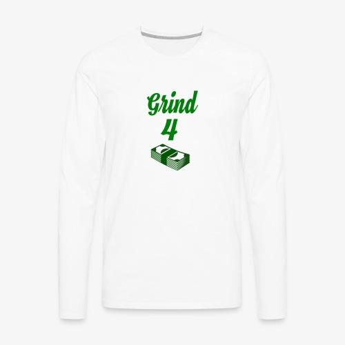 Grind4Money - Men's Premium Longsleeve Shirt
