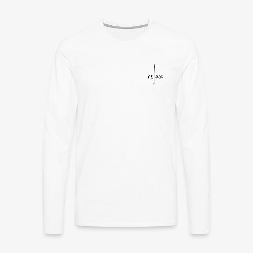 Relax - Camiseta de manga larga premium hombre