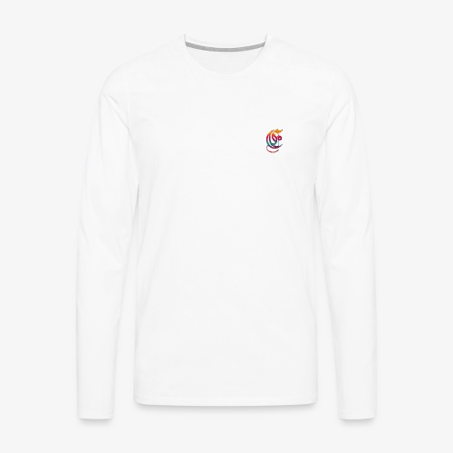 Elemental Retro logo - Men's Premium Longsleeve Shirt