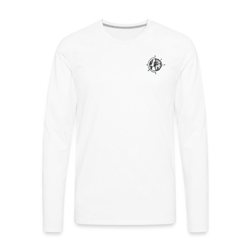 KOMPAS OFFICIAL - Mannen Premium shirt met lange mouwen