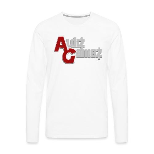 AldizGamez - Mannen Premium shirt met lange mouwen