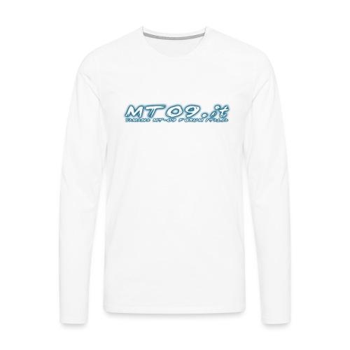 mt09f png - Maglietta Premium a manica lunga da uomo