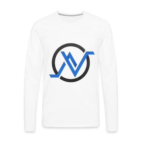 Logo 2 png - T-shirt manches longues Premium Homme
