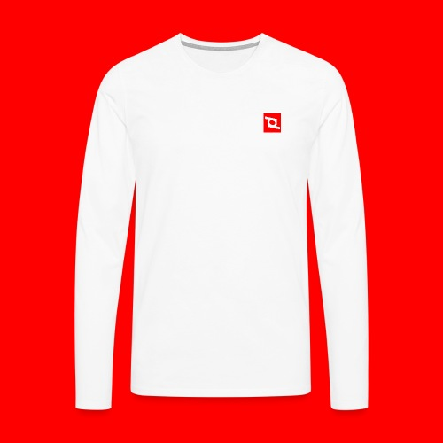 pd 90 - Herre premium T-shirt med lange ærmer