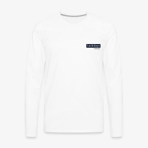 Hackdays Germany - Blue Logo - Men's Premium Longsleeve Shirt