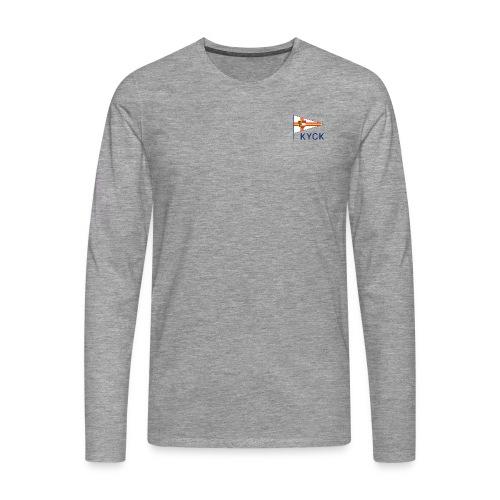 KYCK - classic - Männer Premium Langarmshirt