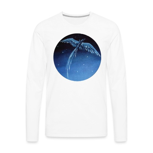 Oiseau Bleu 1 - T-shirt manches longues Premium Homme