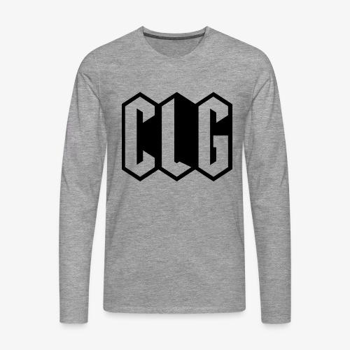 CLG DESIGN black - T-shirt manches longues Premium Homme