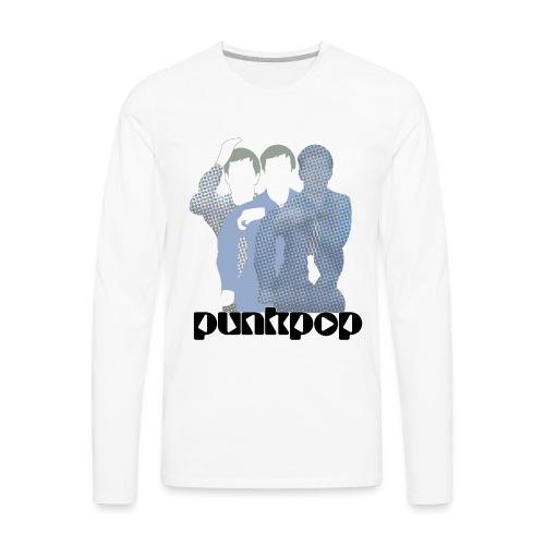 JD Post Punk PunkPop - Maglietta Premium a manica lunga da uomo