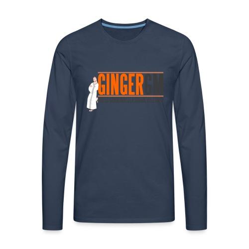 Ginger GM Logo - Men's Premium Longsleeve Shirt