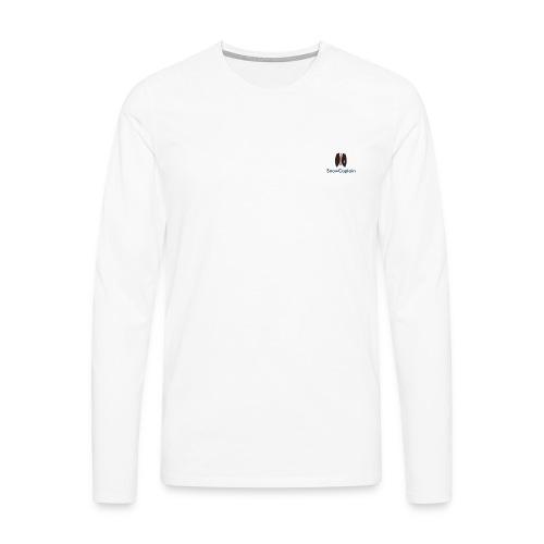 SnowCaptain - Mannen Premium shirt met lange mouwen
