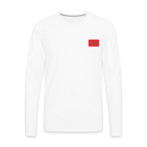 maroc 1 - T-shirt manches longues Premium Homme
