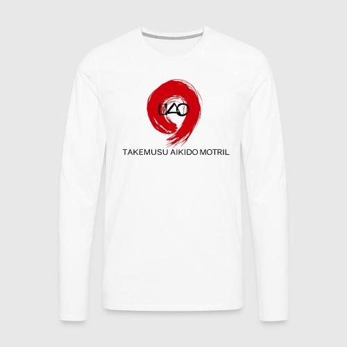 Takemusu Aikido Motril - Red Enso II - Men's Premium Longsleeve Shirt