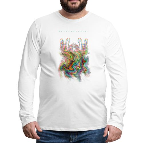 Deafworldsign - Männer Premium Langarmshirt