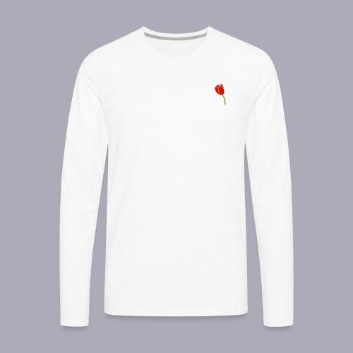 Tulip Logo Design - Men's Premium Longsleeve Shirt