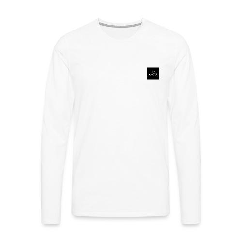 ELIA (Black and white) - Männer Premium Langarmshirt