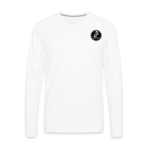 Logo Circle type 1 png - Men's Premium Longsleeve Shirt