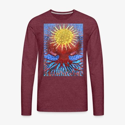 Niebiańskie Drzewo - Koszulka męska Premium z długim rękawem