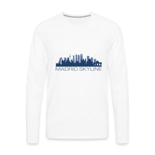 MADRIDSKYLINE - Camiseta de manga larga premium hombre