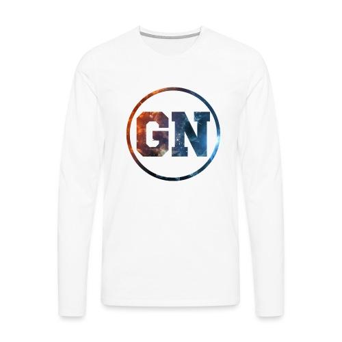 GainsNation galaxy - Långärmad premium-T-shirt herr