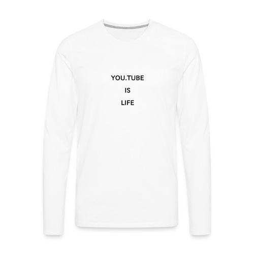 1520942615198 - Långärmad premium-T-shirt herr
