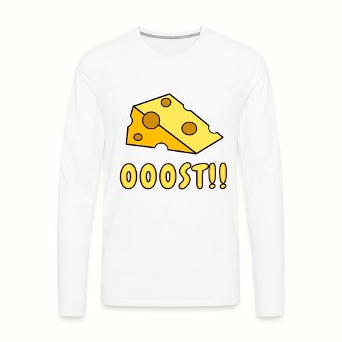OOOST!! - Långärmad premium-T-shirt herr
