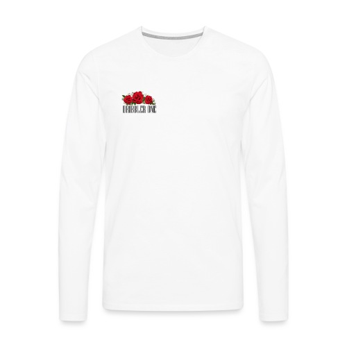 Rous - Camiseta de manga larga premium hombre