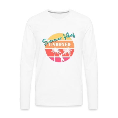 Summer Vibes UNBOXED - Männer Premium Langarmshirt