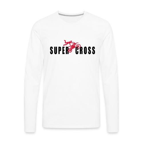 air Supercross - T-shirt manches longues Premium Homme