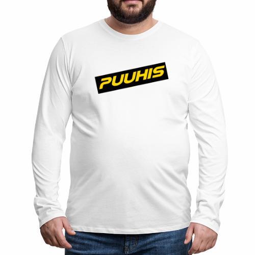 Puuhis verkkokauppa - Miesten premium pitkähihainen t-paita