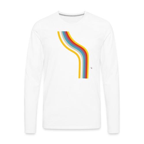 OmaggioB - Maglietta Premium a manica lunga da uomo