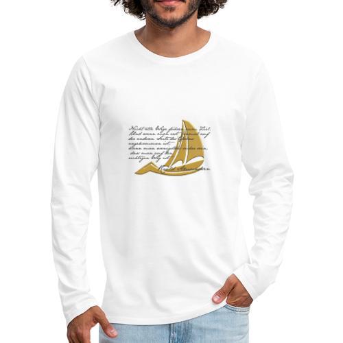 weltumsegeln - Männer Premium Langarmshirt