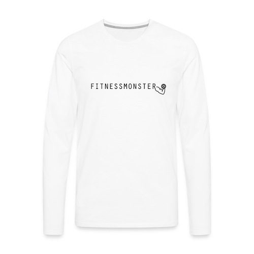 Fitnessmonster - Männer Premium Langarmshirt
