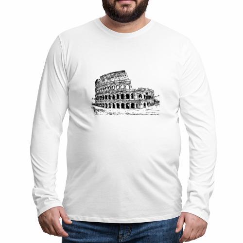 Kolosseum - Männer Premium Langarmshirt