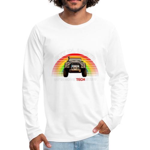 We're Doing Tech Stuff - Men's Premium Longsleeve Shirt