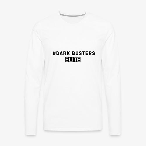 #Dark Busters ELITE - Männer Premium Langarmshirt