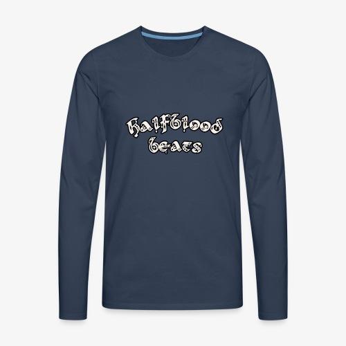 WITTE BRIEVEN - Mannen Premium shirt met lange mouwen