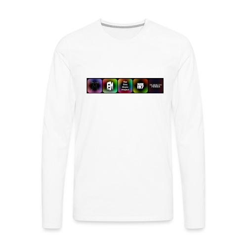5 Logos - Men's Premium Longsleeve Shirt