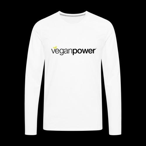 veganpower Lifestyle - Männer Premium Langarmshirt
