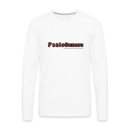 Canotta PanicGamers - Maglietta Premium a manica lunga da uomo