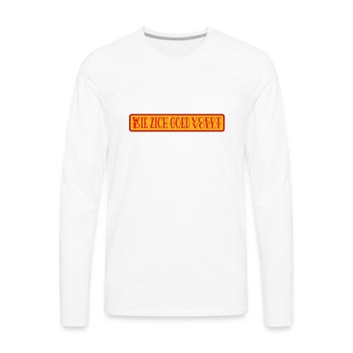 wie en die png - Men's Premium Longsleeve Shirt